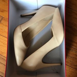 Nude Guess stiletto heels